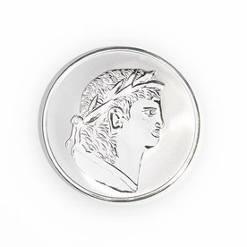 Mi Moneda Mi-moneda munt small Roman-scarabee zilver
