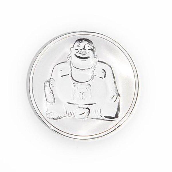 Mi Moneda Mi-moneda munt small buddha-buddha zilver
