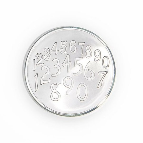Mi Moneda Mi-moneda munt small Phiastos-getallen zilver
