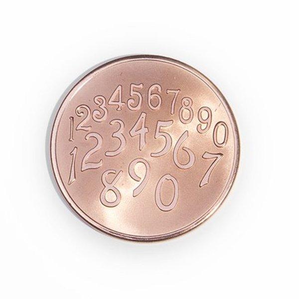 Mi Moneda Mi-moneda munt small Phaistos-getallen rose