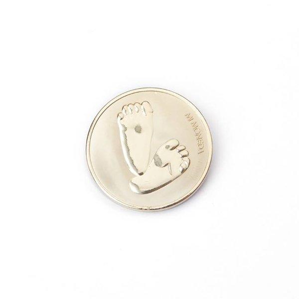 Mi Moneda Mi-moneda munt small babyvoetjes-ti amo