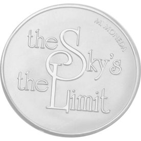 Mi Moneda Mi-Moneda munt small Sky and Stronger
