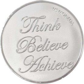 Mi Moneda Mi-Moneda munt medium Blessed and Believe