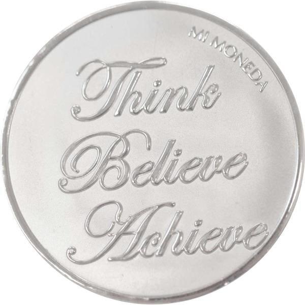 Mi Moneda Mi-Moneda munt small Blessed and Believe