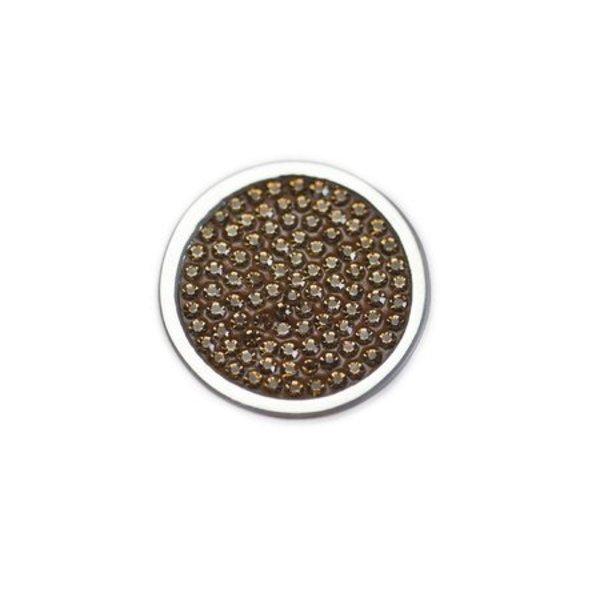 Mi Moneda Mi-Moneda munt diamond disc small champagne