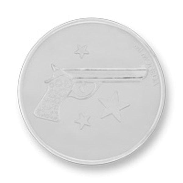 Mi Moneda Mi-Moneda munt Aim high & Pistol medium