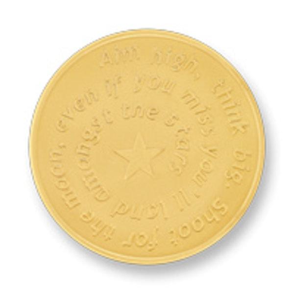 Mi Moneda Mi-Moneda munt Aim high & Pistol large