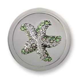 Mi Moneda Mi-Moneda coin Atlantis Estrella Silver Green medium
