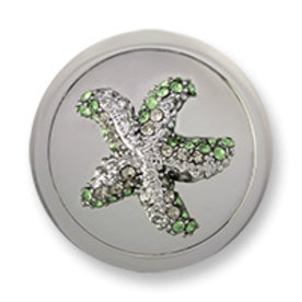 Mi Moneda Mi-Moneda munt Atlantis Estrella Silver Green medium