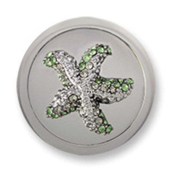 Mi Moneda Mi-Moneda munt Atlantis Estrella Silver Green medium