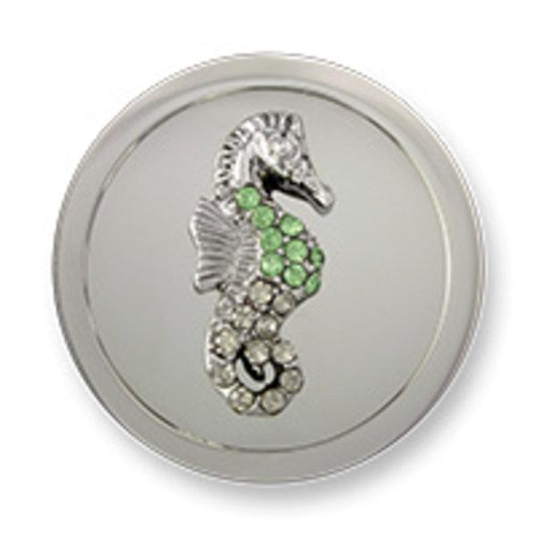 Mi Moneda Mi-Moneda munt Atlantis Caballito Silver Green medium
