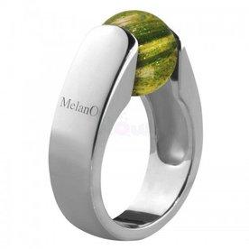 Melano Melano Cateye Ring Katze 10mm 01SVR 3602