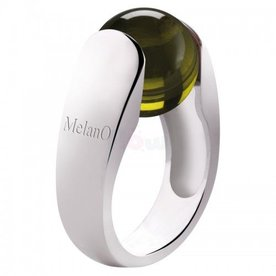 Melano Melano Cateye ring Cat 12mm 01SVR 3904