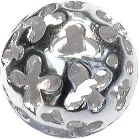 Melano Melano Colors Silver ball Flower