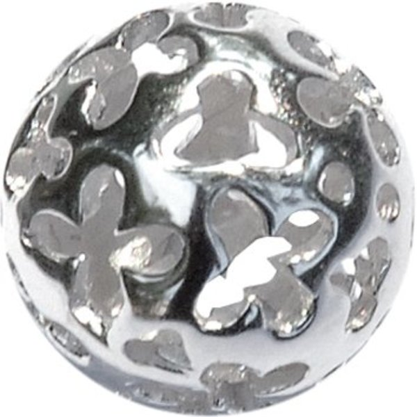 Melano Melano Colours Silver ball Flower
