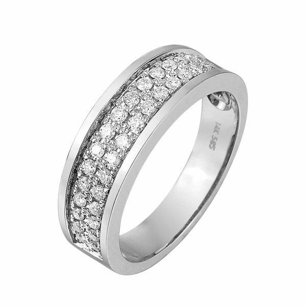 Pas Diamonds Pas Diamonds wit gouden ring
