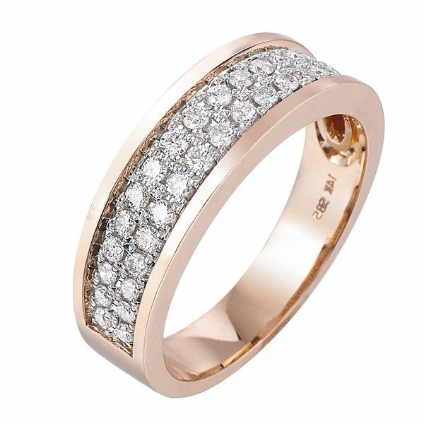 Pas Diamonds Pas Diamonds rose gouden ring