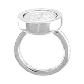 Mi Moneda Mi-Moneda ring Carpe Diem zilver