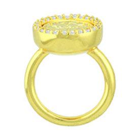 Mi Moneda Mi-Moneda ring AVO Deluxe Gold plated