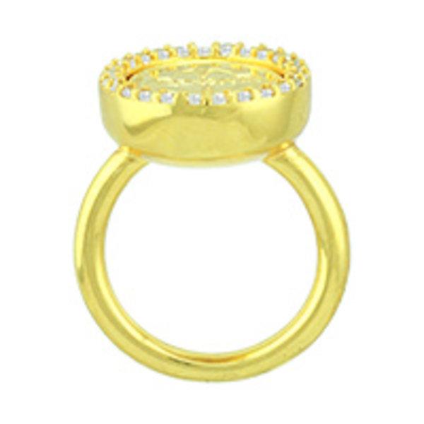 Mi Moneda Mi-Moneda ring AVO Deluxe  colorGold