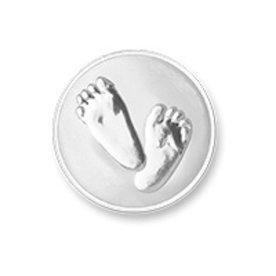Mi Moneda Mi-Moneda Munt XS Baby Feet voor Mi-Moneda ring