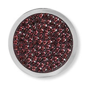 Mi Moneda Mi-Moneda munt Diamond Disc Bordeaux small