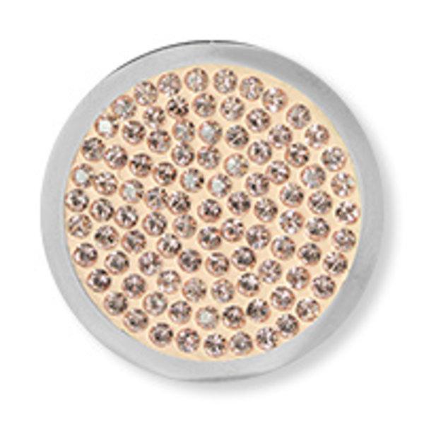 Mi Moneda Mi-Moneda munt Diamond Disc Vintage Rose small