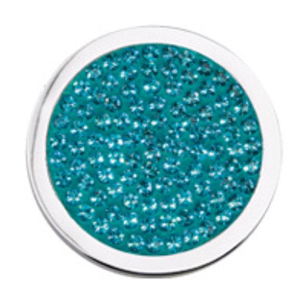 Mi Moneda Mi-Moneda Münze Diamantscheibe Ocean Green