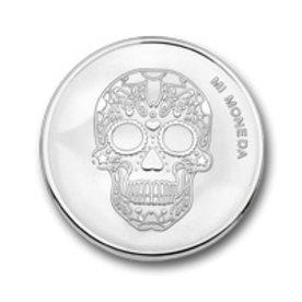 Mi Moneda Mi-Moneda munt small Skull & Fire
