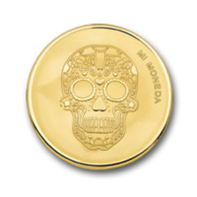 Mi Moneda Mi-Moneda munt medium Skull & Fire