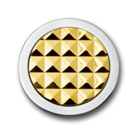 Mi Moneda Mi-Moneda munt Stud color gold small