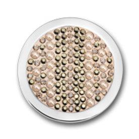 Mi Moneda Mi-Moneda-Münze Joya Champagne groß