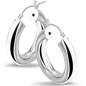 Zilveren creolen 10.01509
