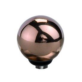 Melano Melano Twisted Stainless Steel spherical setting rosé