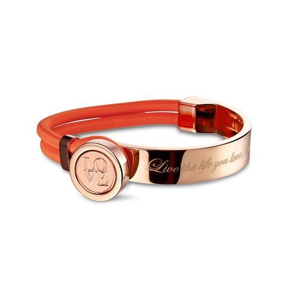 Mi Moneda Mi-Moneda bracelet Verano Peach