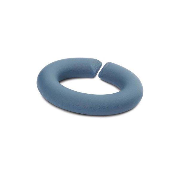 Trollbeads Rubberen link set blauw 5x 2014801002
