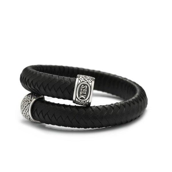 Silk Silk armband Bangle Leather 842