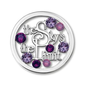 Mi Moneda Mi-Moneda coin Sky Purple Large