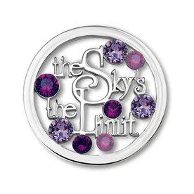 Mi Moneda Mi-Moneda munt Sky Purple Large