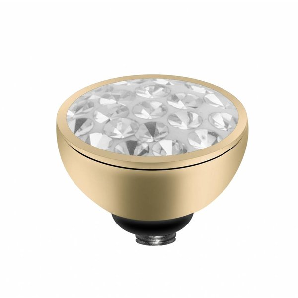 Melano MelanO Twisted Einstellung Multi CZ Crystal Farbe Gold