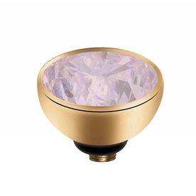 Melano MelanO Twisted Gold Farbeinstellung Zirkonia Milk Pink