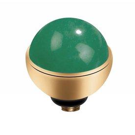 Melano MelanO Twisted Gold Farbe Einstellung Edelstein Jade