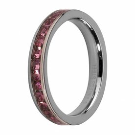 Melano MelanO Side Ring Stainless Steel Rose