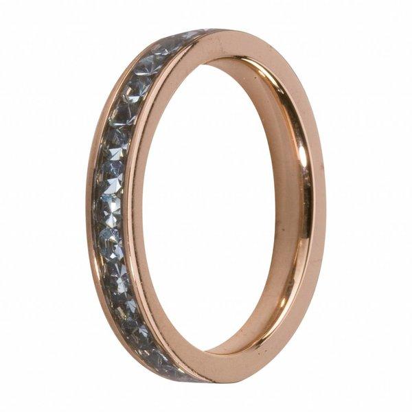 Melano MelanO Side Ring Rosé  Aqua