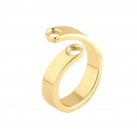 Melano Melano Vivid ring Violet Gold