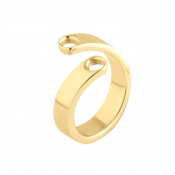 Melano Melano Vivid Ring Violett Gold