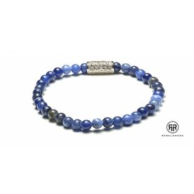 Rebel and Rose Rebel & Rose Midnight Blue - Silver damesarmband RR-40011-S