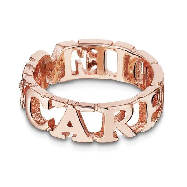 Mi Moneda Take What You Need ring Carpe Diem Rosé