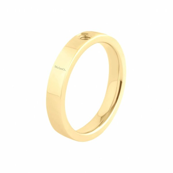 Melano Melano Twisted ring Tatum Gold