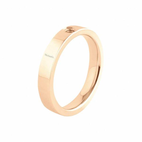 Melano Melano Twisted ring Tatum Rosé